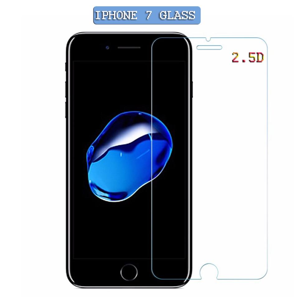 Vidrio Protector de pantalla para iphone 5, 6, 6S, Premium, protector de pantalla de vidrio templado para iphone 5, 6, 7