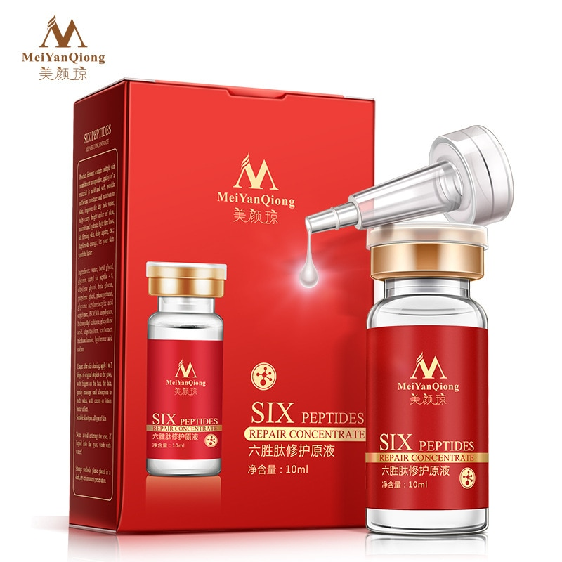 Six Peptides Repair Concentrate Rejuvenation Emulsion Anti Wrinkle Serum For Face Skin Care Products