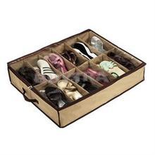 Organizador de almacenamiento armario hogar sala de estar debajo de la cama soporte caja contenedor funda Storer para 12 zapatos o zapatillas