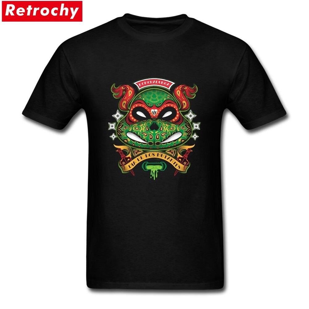 Camiseta a la moda Dia De Los Mutantes Raph, camiseta para hombre De manga corta, anillo De 100%, hilado De algodón, camiseta De impresión personalizada para hombre 2019