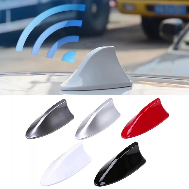 1x Shark Antenna Car Radio Aerials Shark Fin Fm Auto Antena For Hyundai Solaris Accent I30 Ix35 I20 Elantra Santa Fe Tucson Getz Automotive Interior Stickers Aliexpress