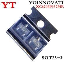 3000 Stks/partij = 1 Reel XC6206P332MR (662K) 3.3V/0.5A Sot-23 Smd Triode Transistor