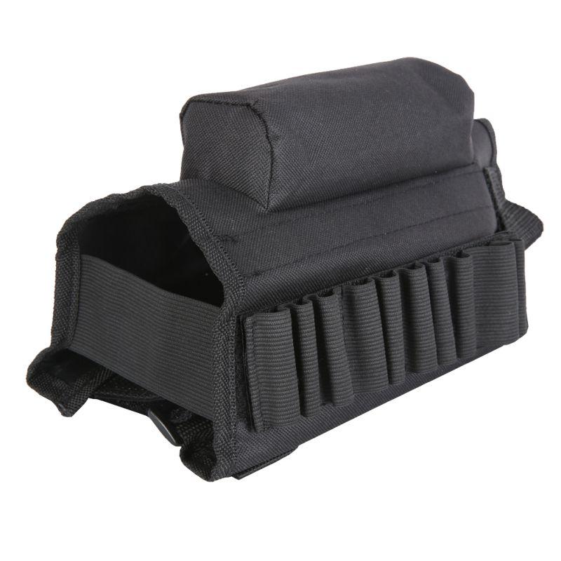 Soporte táctico para mejillas con estuche protector para munición para. 308 .300 Winmag accesorios de caza