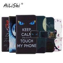AiLiShi luxe housse de protection en cuir coque de téléphone pour Prestigio Grace P5 PSP5515DUO M5 LTE PSP5511DUO coque Etui portefeuille peau