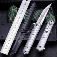 New Arrival  5CR13mov Blade aluminium alloy Handle Folding Knife  Camping Outdoor survival bushcraft EDC Tools