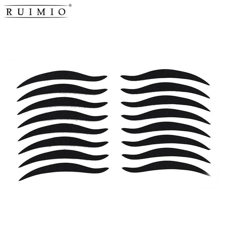 RUIMIO 80 Pairs Temporary Eye Make Up Eyeliner Sticker Eyelid Transfer Tape Eyeshadow Smoky Tattoo Eye Makeup Cosmetic