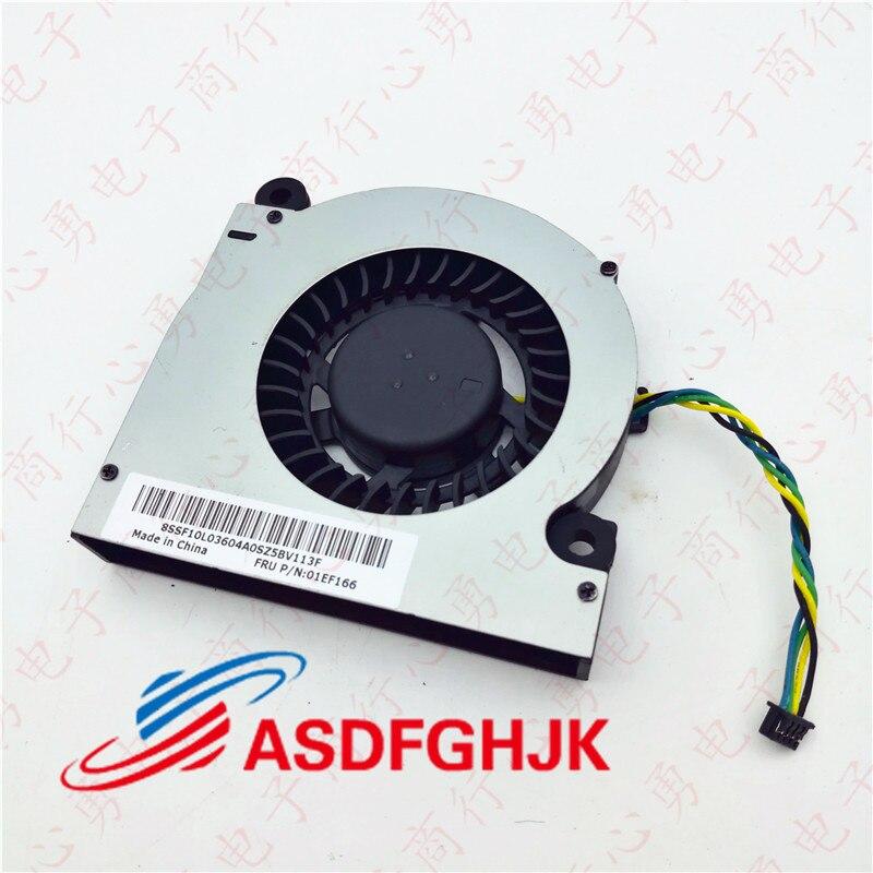 Оригинальный вентилятор охлаждения для Lenovo ideacentre AiO 510s FRU 01EF166 BAZA0712R5M P006 DC28000IUV0 полностью протестирован