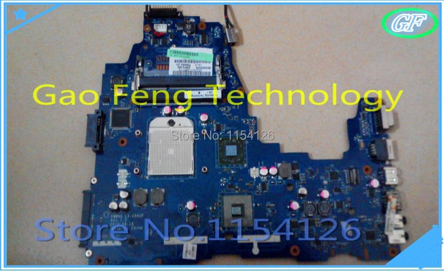 Carte mère dordinateur portable pour Toshiba C660 C660D PWWAA LA-6843P K000111560 100% entièrement testé, garantie de 45 jours