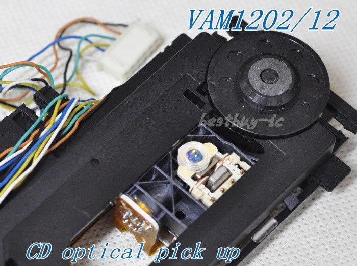 VAM1202/12 with mech CD Optical Pickup VAM1202  VAM1202 /1201 round tube laser lens FOR philips CD Player