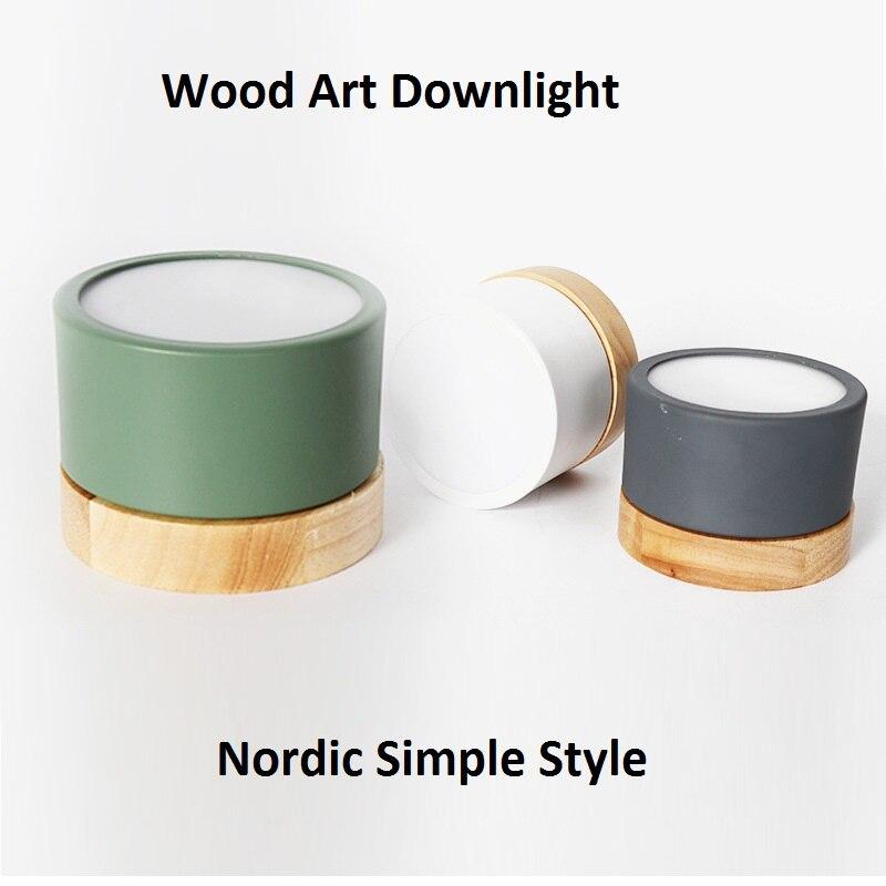 LukLoy-مصباح LED خشبي على الطراز الاسكندنافي ، مصباح داخلي ، مصباح حائط ، إضاءة خلفية ، مثالي للممر أو الشرفة