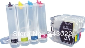 free shipping LC39 LC60 LC975 LC985 CISS Continuous Ink Supply System for Brother DCP-J125/J315W/J515W/MFC-J265W/J410/J415W/J220