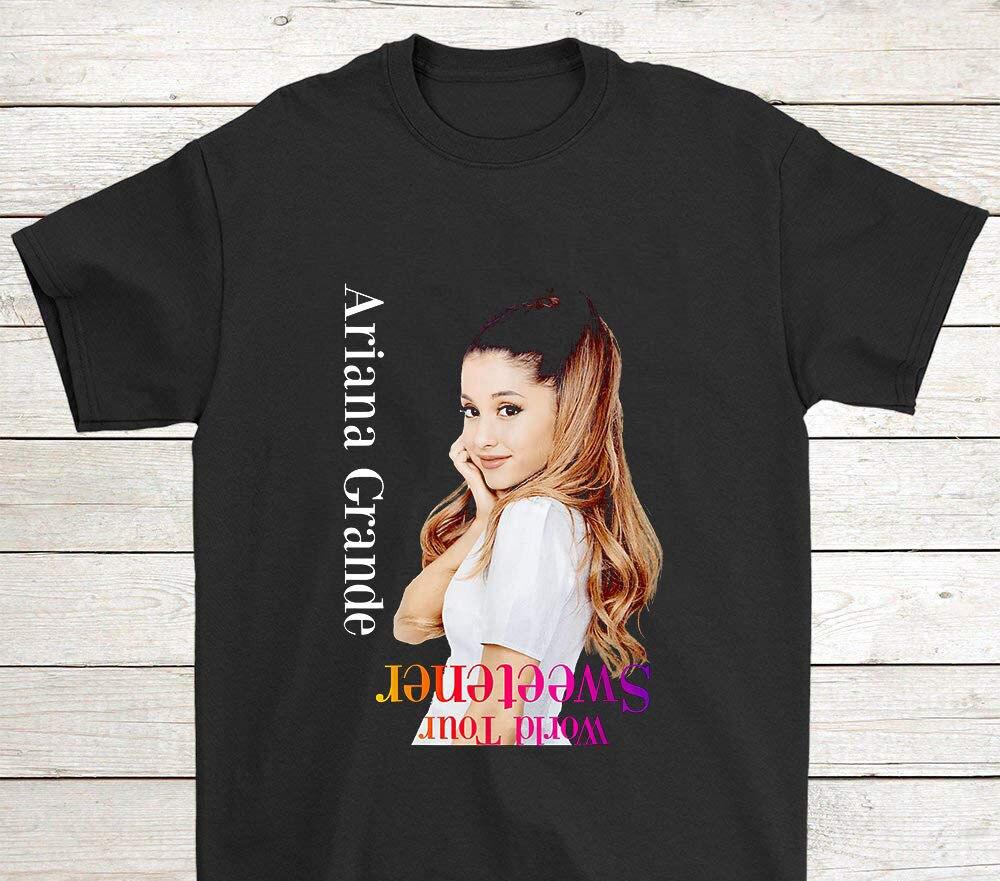 Hipster Jacobteeco Ariana Gift-Grande - Sweetener Shirt World For Men T Shirt Style Homme Men T-Shirts Classic Plus Size Camisa