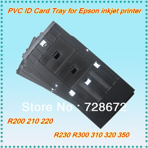Hot 1 pc PVC ID Card Bandeja Para EPSON R200 R210 R220 R230 R300 R310 R350 Impressora Jato De Tinta Peças