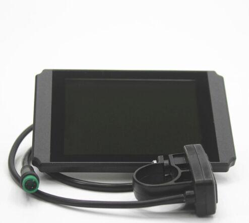 ebike 24 v 36 v 48 v Affichage intelligent Waterppopf plug KT LCD8H Panneau De Controle Electrique Velo Pieces de velo controleu
