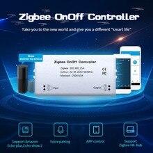 Maison intelligente Zigbee contrôleur marche/arrêt intelligent commutateur intelligent APP télécommande Alexa commutateur de commande vocale Module de maison intelligente