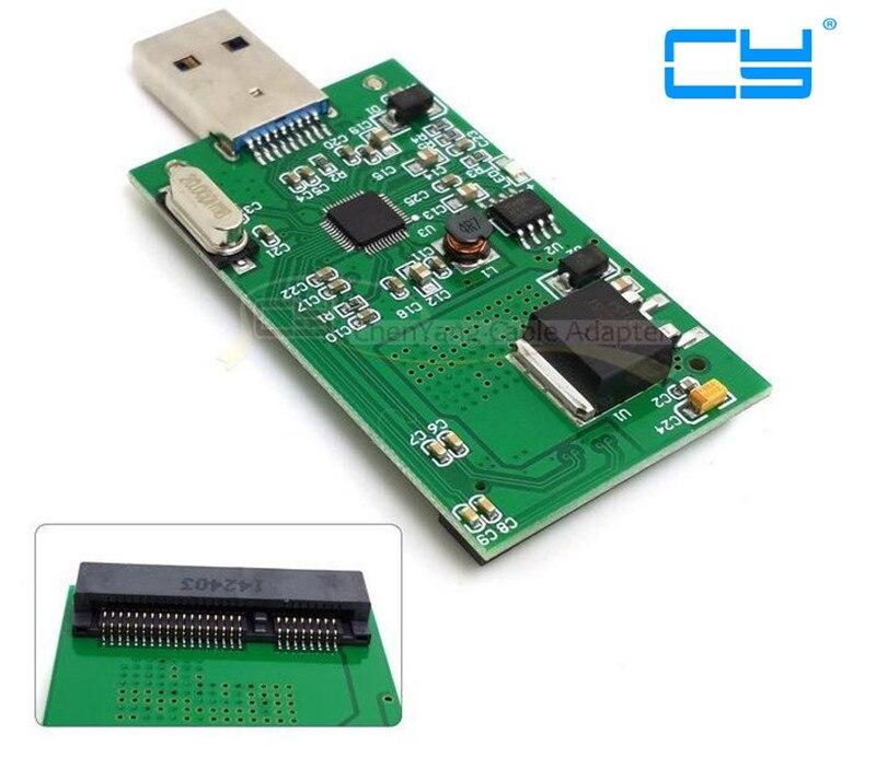 Adaptador Externo para USB 3,0, Mini PCI-E SSD, mSATA, PCBA,