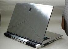 KH spécial ordinateur portable brossé paillettes autocollant peau couverture protecteur pour Alienware 15 R3 ALW15C 15.6-inch 2016 libération
