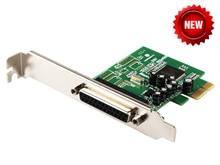 PCIE Drucker DB25 Parallel Port LPT pci-e PCI Express Card Adapter Konverter MosChip MCS9901 Win10 IEEE 1284 Drucker