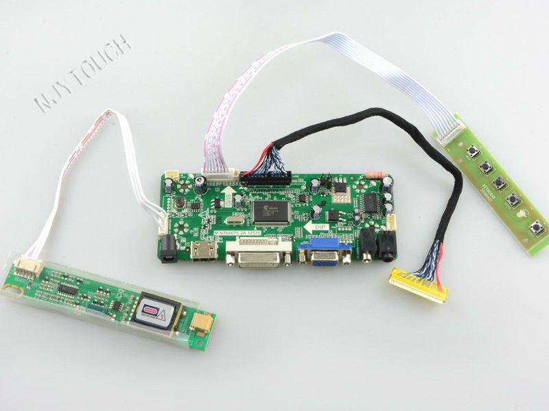 M. NT68676.2A HDMI DVI VGA AUDIO LCD Controller Board für 1280x800 LTN141W1 LTN141W2-L02 LTN141W3 14,1 zoll TFT LCD panel CCFL