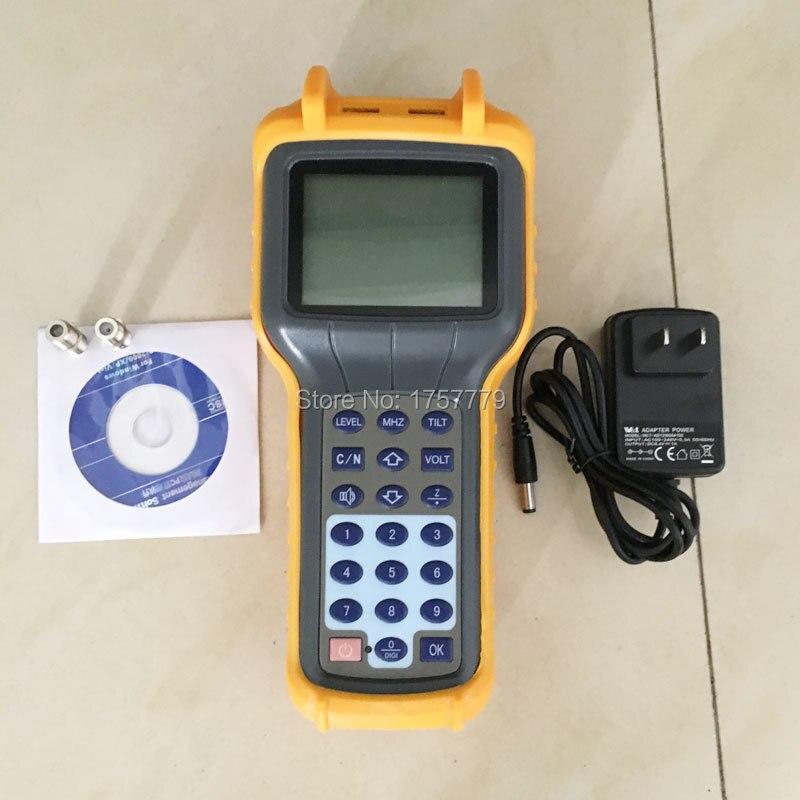 Nova RY-S110D CATV Cable TV Portátil Testador de Medidor de Nível de Sinal Analógico DB Tester 5-870MHz