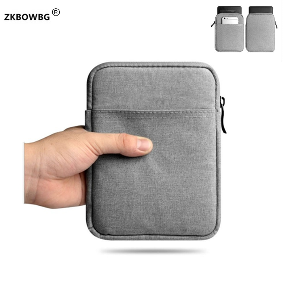Luxury Universal Sleeve Pouch Case For eBook Onyx Boox Nova Pro 7.8 inch Reader Casual Shockproof Zippered Cover Bags