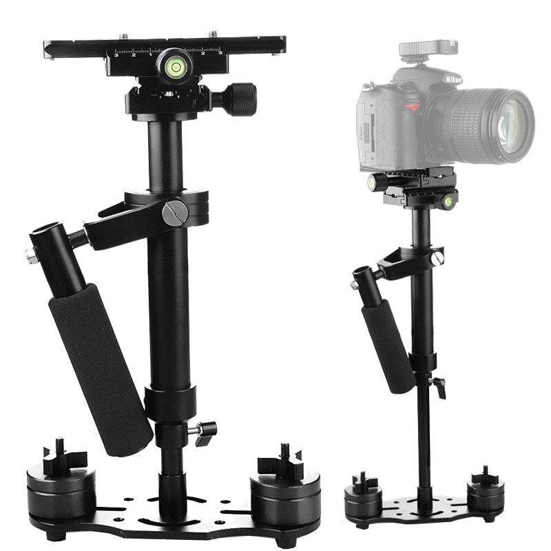 Photo S40+ 0.4M 40CM Aluminum Alloy Handheld Steadycam Stabilizer for Steadicam for Canon Nikon Photography DSLR Video Camera