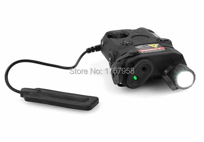 FMA Full Founction PRO & T AN/PEQ-15 Green Dot Laser & LED Lanterna Dispositivo Preto/Tan Tático lanterna PEQ 15-TB68