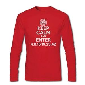 Jesse Perfect Men's Keep Calm and Enter T-shirts Cool Original Shirts Pinkman Tee Shirt Cotton Full-sleeved Clothes 100% Cotton
