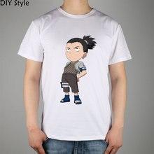 Naruto Nara Shikamaru 3 t-shirts manches courtes de haute qualité marque de mode t-shirt hommes