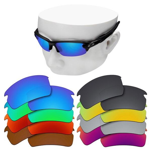 Lentes de repuesto polarizadas OOWLIT para gafas de sol Oakley Flak 2,0 Asian Fit OO9271