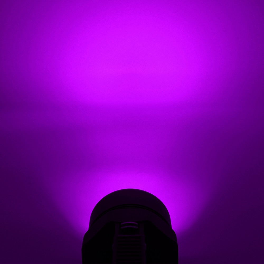 Waterproof 4 x UV LED Scuba Diving Flashlight Ultraviolet Purple Light Lantern Torch Underwater 100M 395nm Hunting Lamp Light enlarge