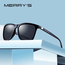 MERRYS Unisex Retro Occhiali Da Sole In Alluminio Occhiali Da Sole Polarizzati Lente Occhiali Da Sole Dell'annata Per Gli Uomini/Donne S8286