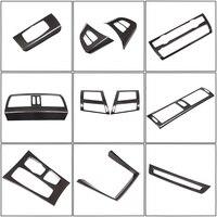 Car Accessories Carbon Fiber Style For BMW X5 X6 E70 E71 2008-2013 ABS Car Interior Decoration Strip Frame Cover Trim Sticker