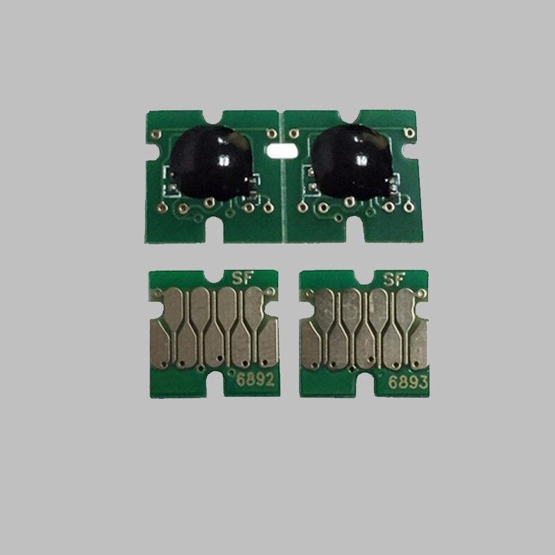 Vilaxh T6891-T6894 Chip Do Cartucho Para Impressora Epson SureColor S30670 S50670 T6891 T6892 T6893 T6894 Chip de Uma Só Vez