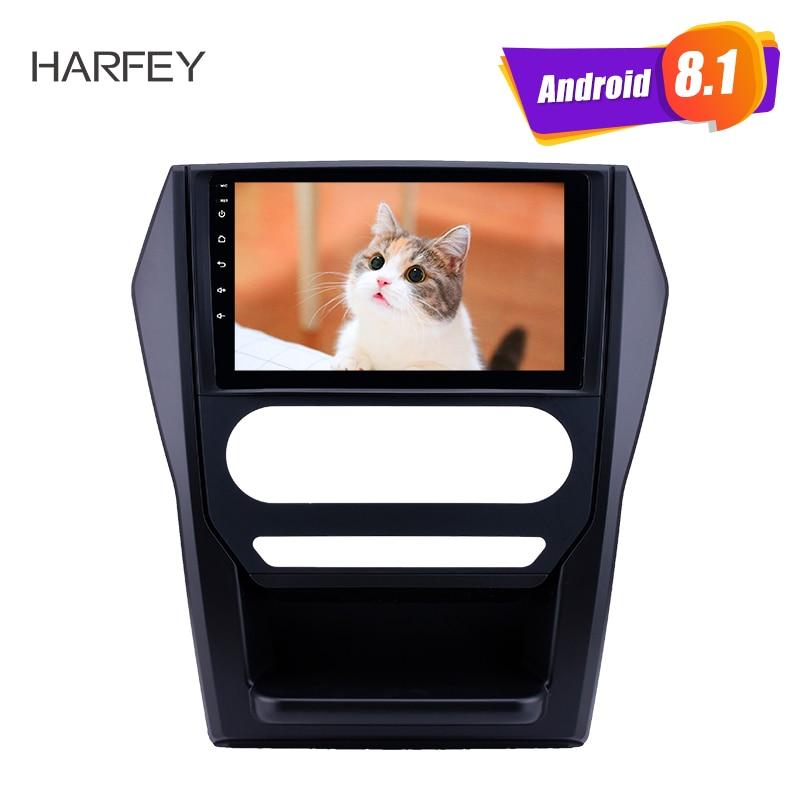 Harfey 9 pulgadas Android 8,1 car Radio para Mahindra Scorpio Auto A/C 2015 pantalla táctil HD GPS Carplay DVR Cámara retrovisora