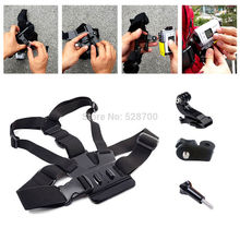 Accesorios correa de pecho cinturón de montaje para GoPro Sony X3000 X1000 AS300 AS200 AS100 AS50 AS30 AS20 AS15 AS10 RX0 AZ1 mini cámara de acción