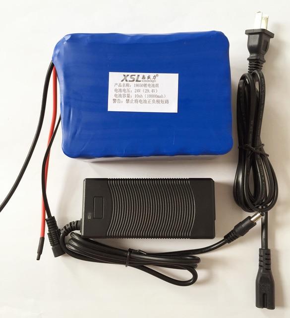 LiitoKala-batería eléctrica para silla DE ruedas, 7S5P, 24V10 ah, 15A, BMS, 25a,...