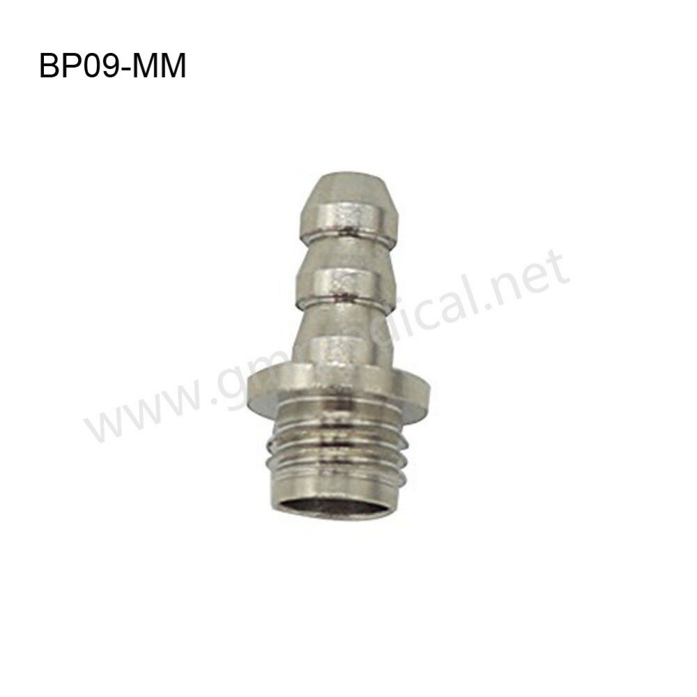 Free shipping Female&Male Screw Connector Metal Connector NIBP Cuff Air Hose Connector 3 Set/Pack.