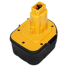 UNITEK 12V Ni-MH rechargeable battery 3000MAH replace for Dewalt cordless Electric drill screwdriver DE9037 DE9071 DE9074 DE9075