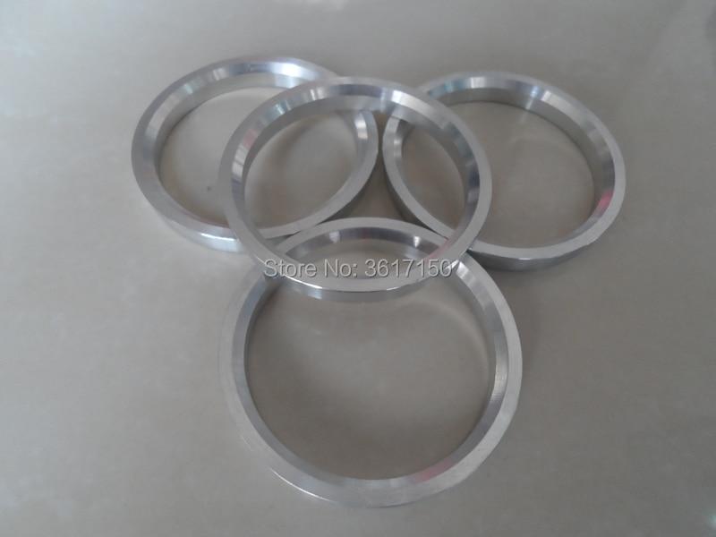 Juego de 4 anillos de cubo de rueda, 56,1x67, 56,1 D. U., 67 D. U., de aleación de aluminio o plástico de policarbonato