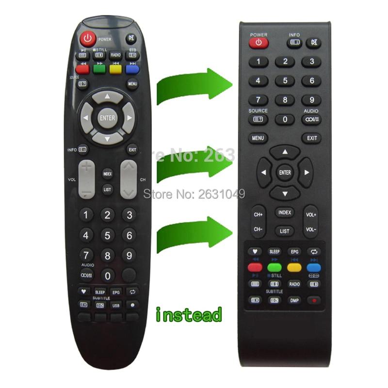 Control remoto para Sencor tv SLE-3221TCS SLE-32F16M4... SLE-32F16M4 SLE-3215M4 SLE-2057M4 SLE-2058TCS
