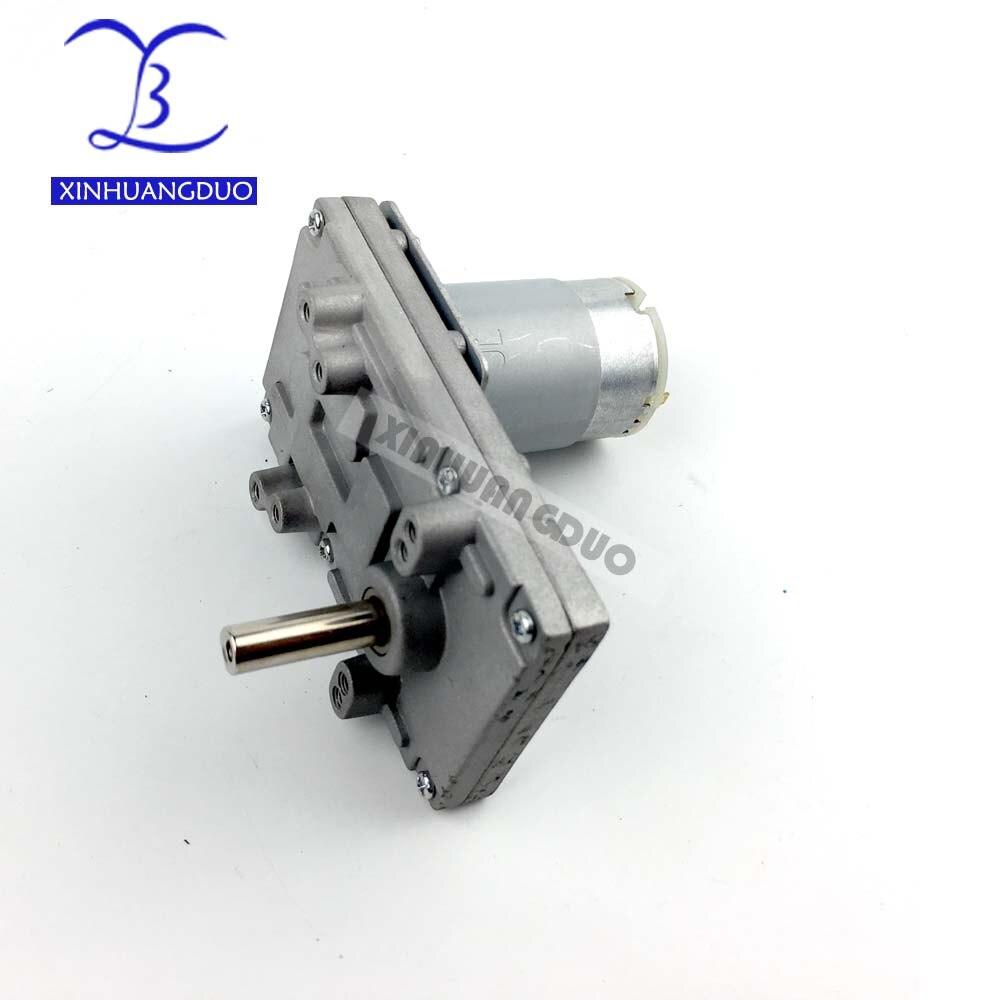 555 металлический мотор-редуктор для Takanawa 12В-24В DC редуктор мотор с высоким крутящим моментом низкий уровень шума 40-80 об/мин