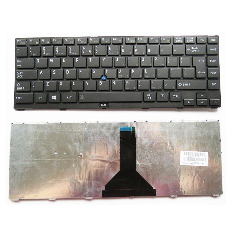 YALUZU Nuevo Reino Unido teclado para Toshiba Satellite R845 R800-K01B R845-S80 S85 S95 R940 R840 R945