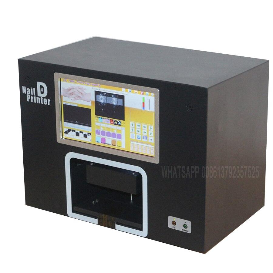 5 nails printing machine nail printer screen nail and flower printer digital nail printer