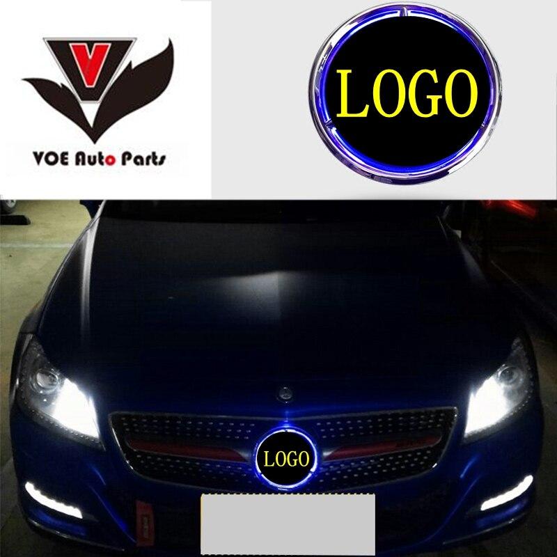 W176 W246 W205 W212 W117 Beleuchtet Stern Auto Front Grill LED Licht Logo Abzeichen für Mercedes-Benz A B C E CLA GLA Klasse