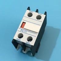 20 pcs auxiliary contact block for ac contactor cjx2 lc1 f4 11 f4 20 f4 02 2 poles la1 dn11 la1 dn20 la1 dn02