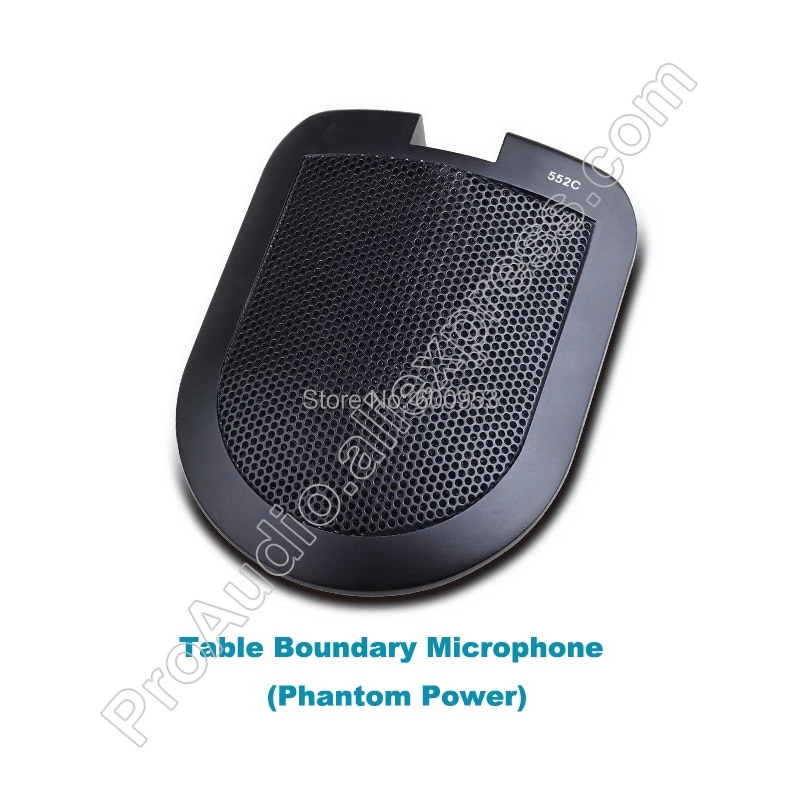 MICWL E552C Conference Public Broadcasting teaching Boundary Interface Condenser Microphone high resolution low noise