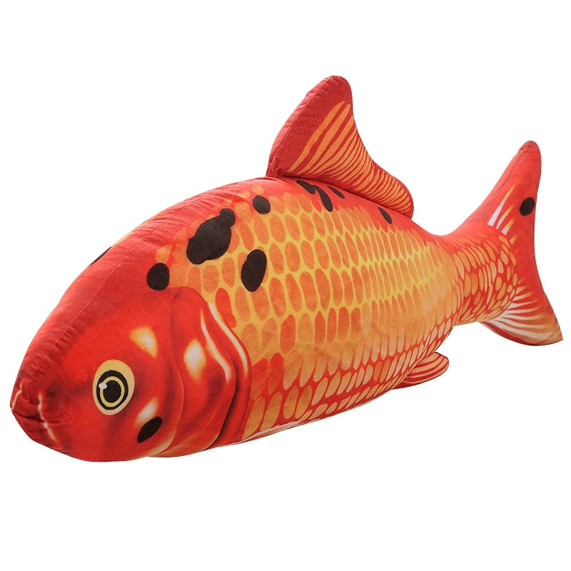 20/30cm colorido Cyprinus Carpio peces Koi Carpa de peluche de juguete de peluche muñeca acuáticos peces de peluche mascotas perros gatos de peluche de juguete almohada
