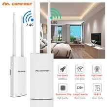Comfast 1200Mbps CF-EW72 double bande 5G haute puissance extérieure AP couverture omnidirectionnelle Point daccès Wifi Station de Base antenne AP
