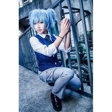 Assassination Classroom Cosplay traje japonés Anime Cosplay Shiota Nagisa Cosplay traje uniforme traje de
